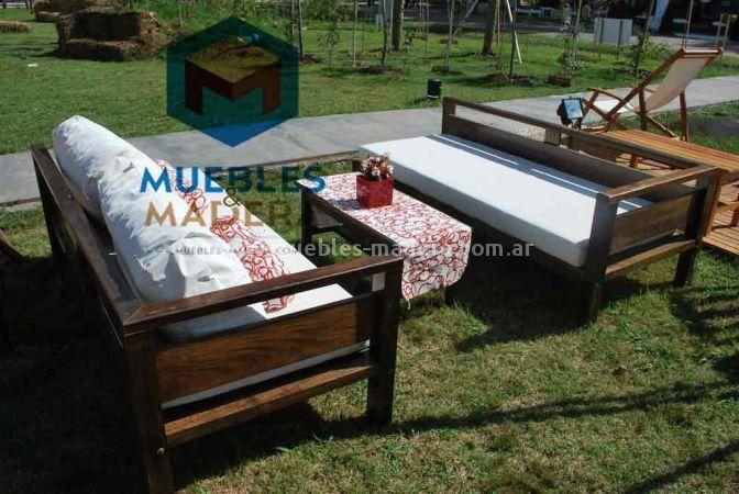 Juegos de living para exterior muebles de jardin venta for Fabrica de muebles para exterior
