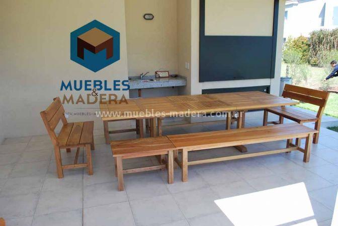 Mesas extensibles muebles de jardin venta de muebles de for Fabrica de muebles para jardin