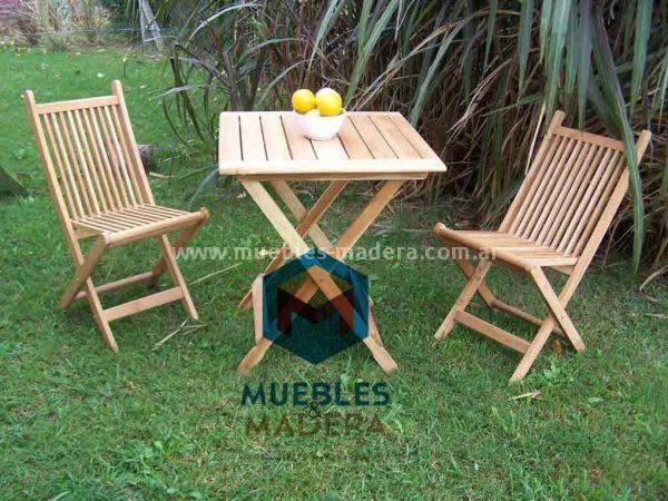 Sillas de madera muebles de jardin venta de muebles de for Fabrica de sillas de jardin