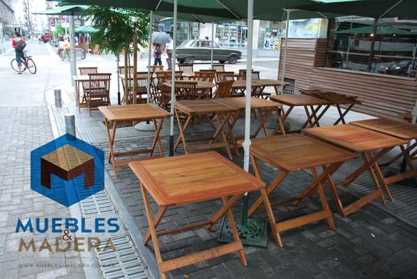 Mesas de bar muebles de jardin venta de muebles de for Mesas de madera para bar