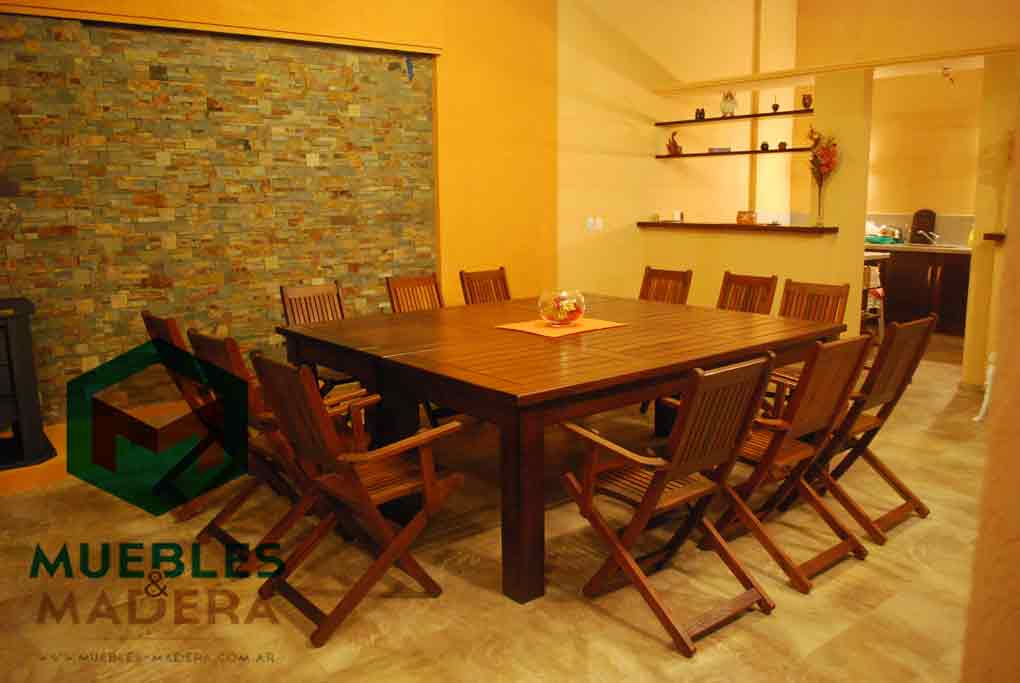 Mesas de comedor muebles de jardin venta de muebles de for Muebles de comedor en madera