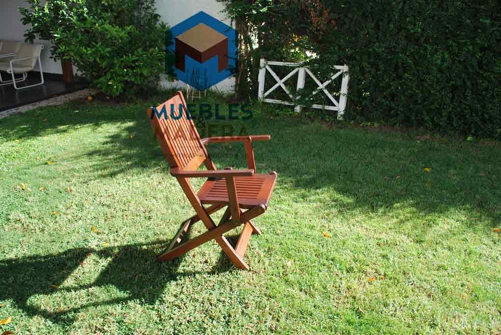 Sillas plegables de madera muebles de jardin venta de for Sillas plegables jardin