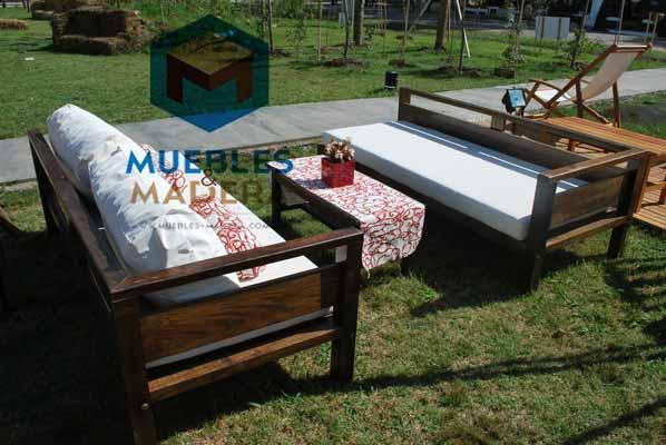 Juego de living para exterior muebles de jardin venta for Juego de sillones de jardin